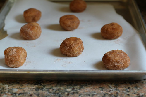 balls of cookie dough, ready to be baked
