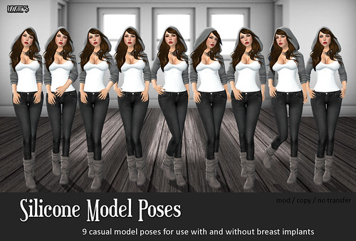 Silicone Model Poses
