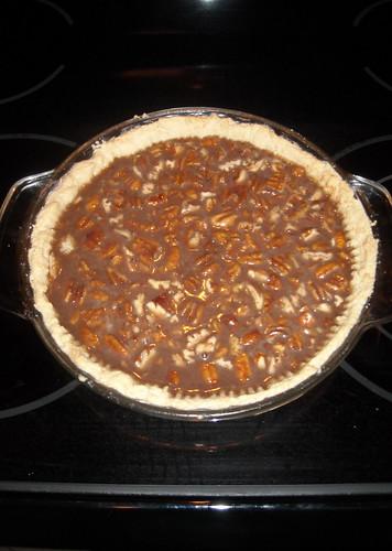 pie crust filled