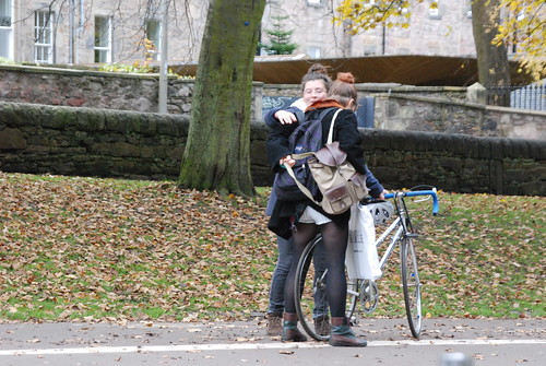 Two on a bike - getting ready