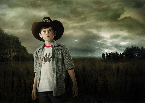 The Walking Dead- Comic vs. TV - Carl Grimes11