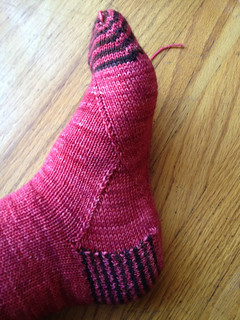 Roosimine Socks with arch shaping