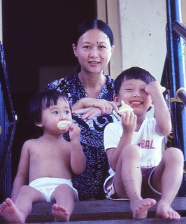 1982 - Me, Mum, Shan