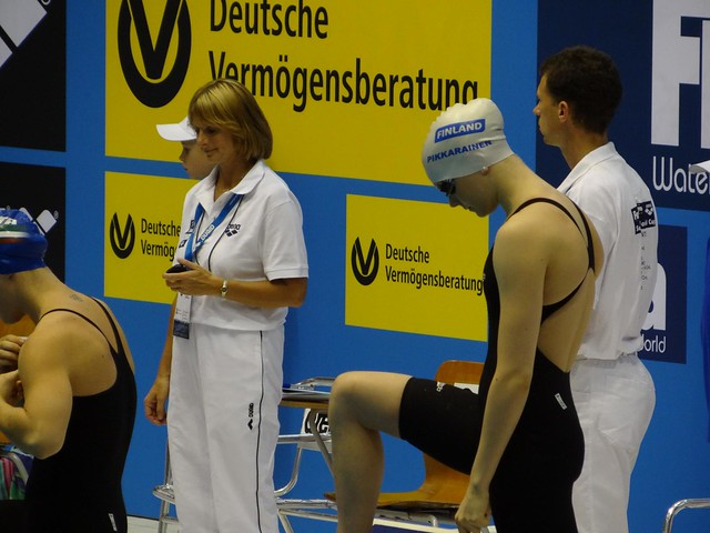 Emilia Pikkarainen at the Berlin 2012 World Cup meet