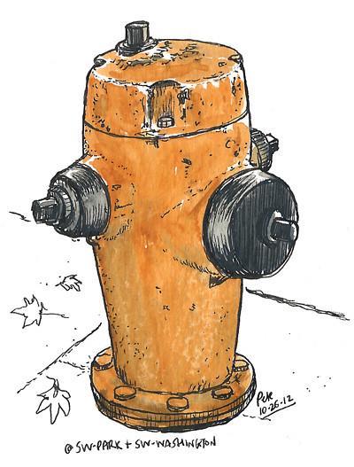 PDX hydrant