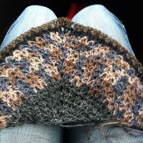 #kría #crochet #shawl #þóraheklbók