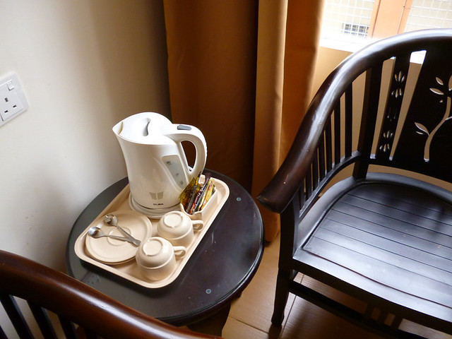 Coffee & Tea set at Pontian Garden Hotel