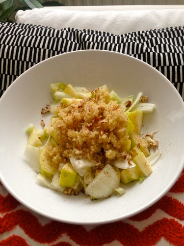 Fenchel-Apfel-Quinoa-Salat