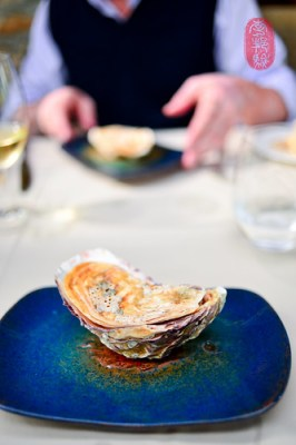 7th Course: Oyster