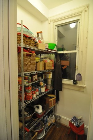 Kitchen Pantry late 2010