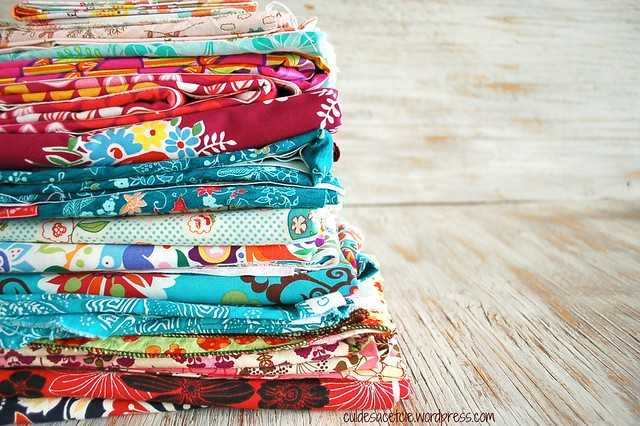 growing fabric stash...