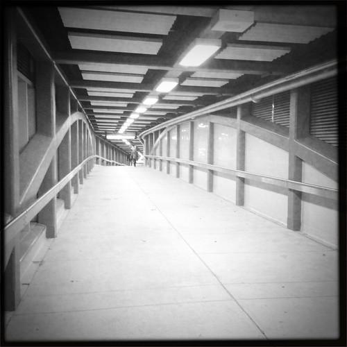 Kipling Station Walkway