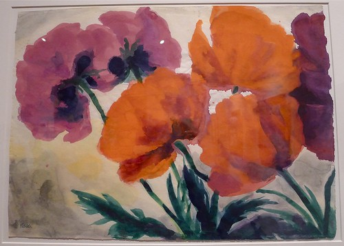 "Emil Nolde: ""Poppies."""