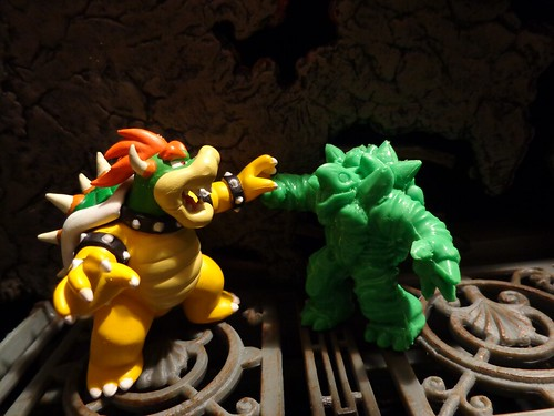 Hell Turtle Vs. Koopa