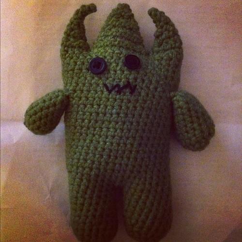 Done! #amigurumi #crochet #monster
