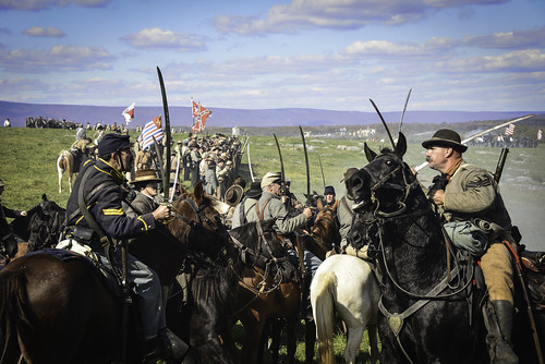 Battle of Cedar Creek reenactment 10/21/12
