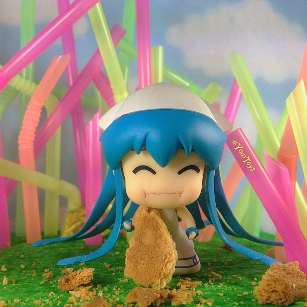 Ika in Strawland by yogiidris