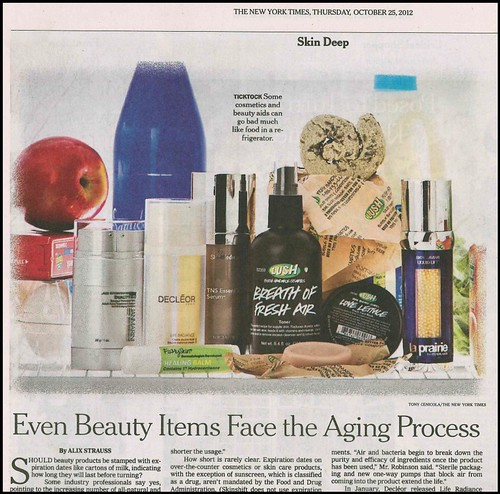Joel Schlessinger MD and the FixMySkin Healing Balms featured again in the New York Times