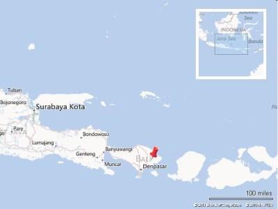 Tulamben Map