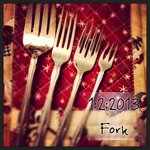 Fork {a series of forks; confused? ...start on the outside & work your way in} #fmsphotoaday