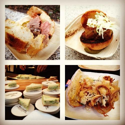 Feast 2012 Sandwiches