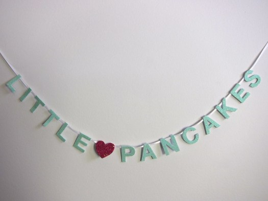 Little Pancakes Mini Banner