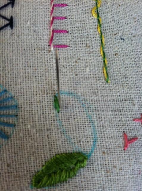 brick stitch 1