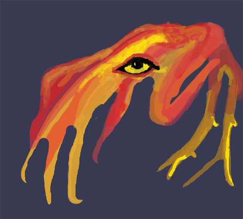 Red and Yellow Monster
