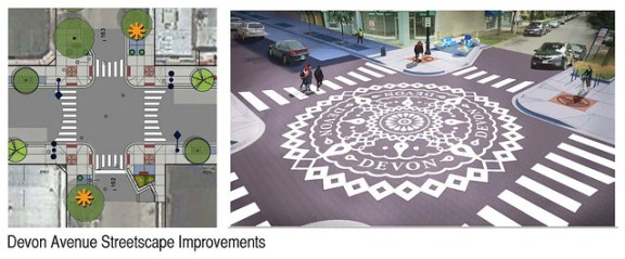 Devon Avenue streetscape improvements