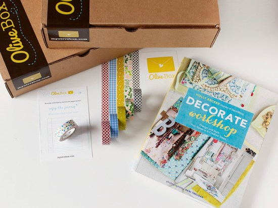 Olive Box: Pretty Boxes of Paper Goodies Monthly!