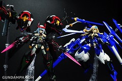 Armor Girls Project Laura Bodewig Schwarzer Regen Infinite Stratos Unboxing Review (89)