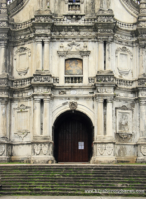 facade detail of San Geronimo Churchh