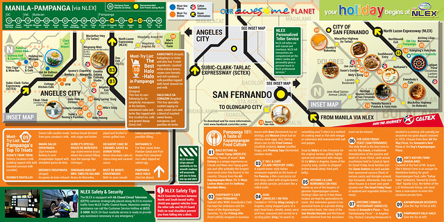 NLEX GUIDE MAP: Your Awesome Getaway Experience in the North