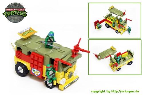 TMNT Party Wagon