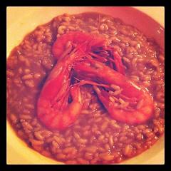 spanish rice with prawns