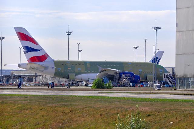F-WWSK / G-XLEA A380-841 MSN095 British Airways