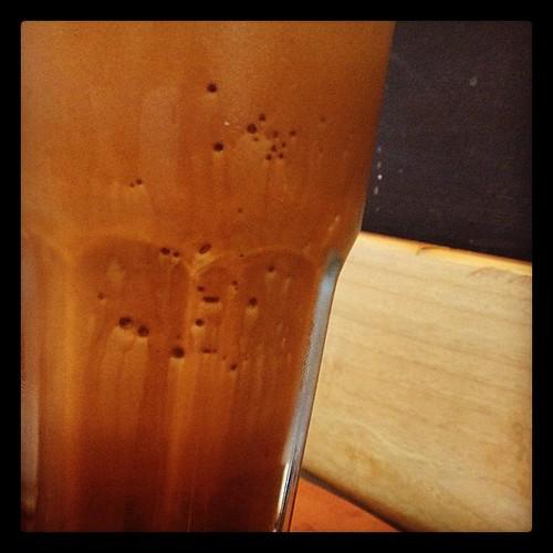 Reversed gradation #starbucksnomad #mochafrappuccino #doubleshotespresso #jogjakarta #norecipejuststory
