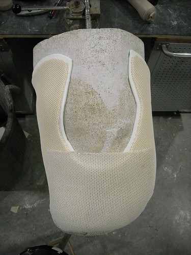 Mold with anterior trimlines finished