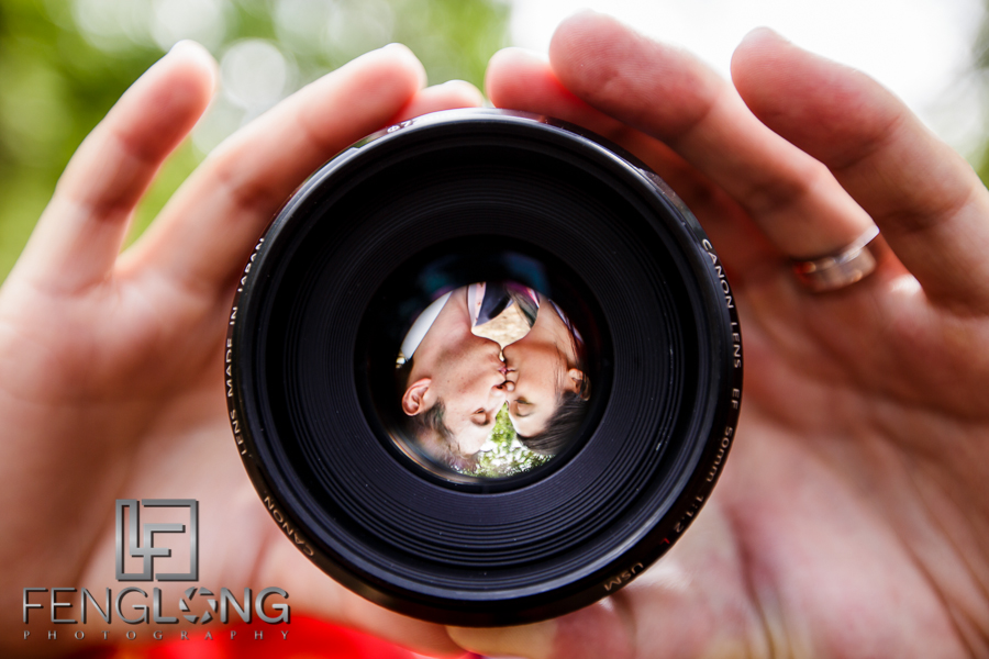 Portrait in a 50mm Lens | Amy & Michael's Day-After Bridal Shoot | Jones Bridge Park | Atlanta Chinese Korean Wedding Photographer
