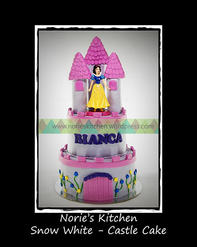 Norie's Kitchen - Snow White Castle Cake by Norie's Kitchen
