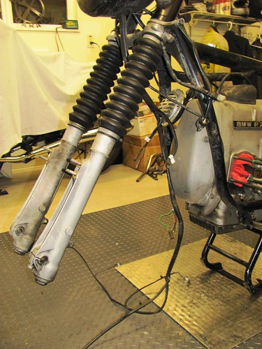 61 bmw 1973 r75 5 remove wire harness and electrics brook s rh brook reams me