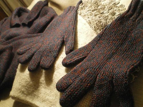 Tricot facile et rapide - Gants au point mousse et à 2 aiguilles  (2/3)