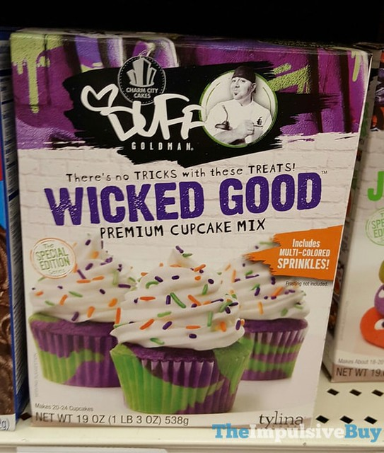 Charm City Cakes Duff Goldman Wicked Good Premium Cupcake Mix