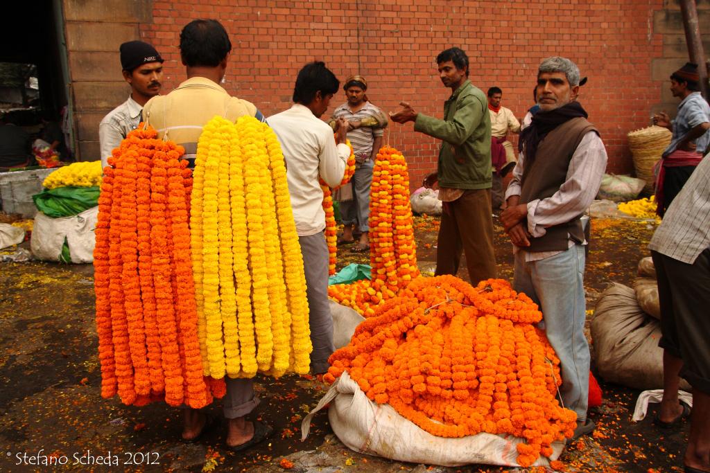 Mullik Ghat Flower Market