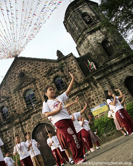 Students of Binangonan Catholic College