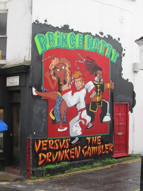 Brighton street art & graffiti