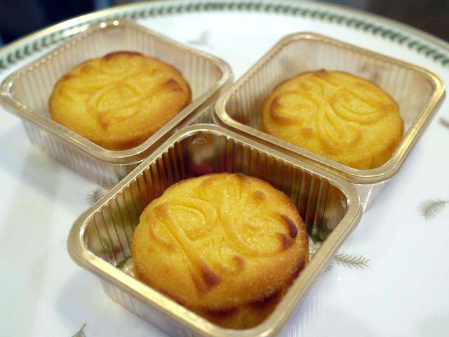 The Peninsula HK's Mini Egg Custard Mooncakes