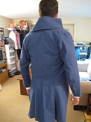 Blue Tailcoat Back