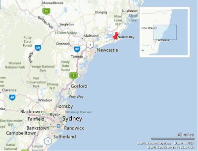 Port Stephens Map