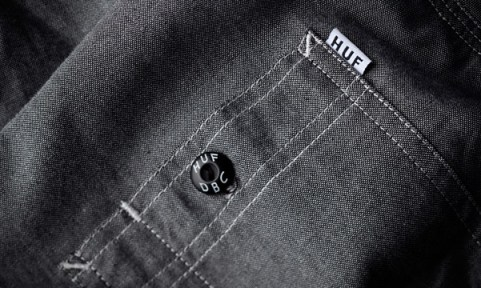 6_HUF_Spring_2013_Marshall_Chambray_Long_Sleeve_Shirt_Detail_1